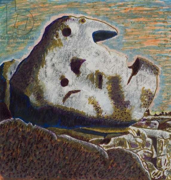 Rock (old man's profile)