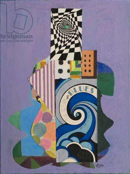 Return of the Blues, 1970 (acrylic on canvas)