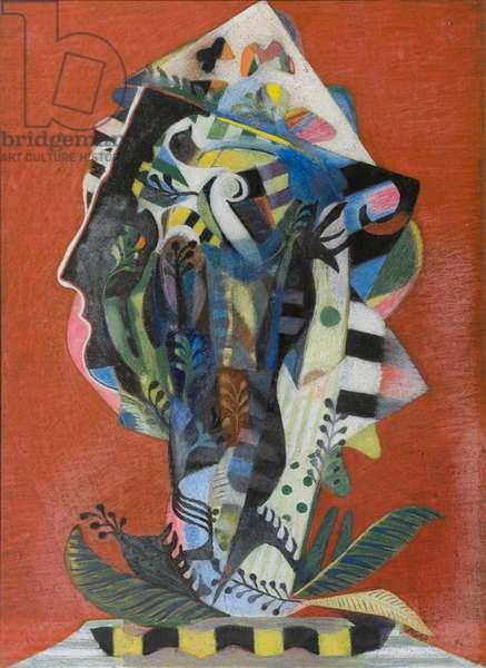Orpheus, (acrylic on canvas)