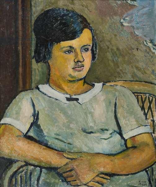 Mooma, 1927 (oil on canvas)