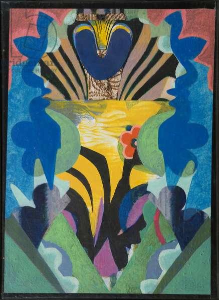 Sunrise, 1972 (acrylic on canvas)