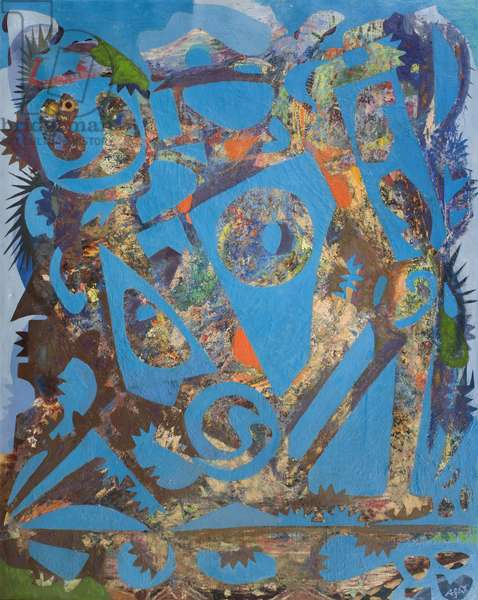 Landscape into Figures, 1962 (oil on canvas)
