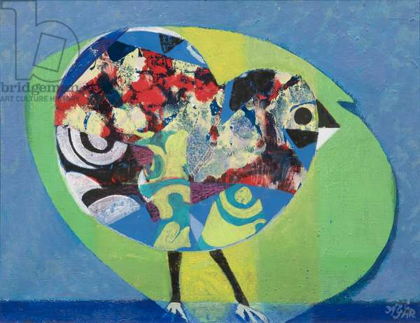 Chicken,  The, 1969 (acrylic on canvas)