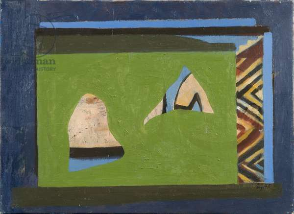 Igloo, 1963 (oil on canvas)