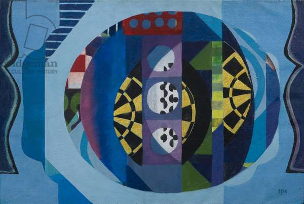 Target, 1982 (acrylic on canvas)