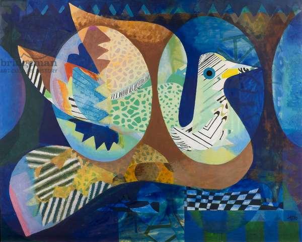 The Famous Bird, 1969 (acrylic on canvas)