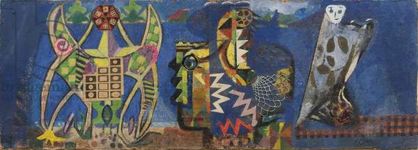 Procession, 1934 (oil on canvas)