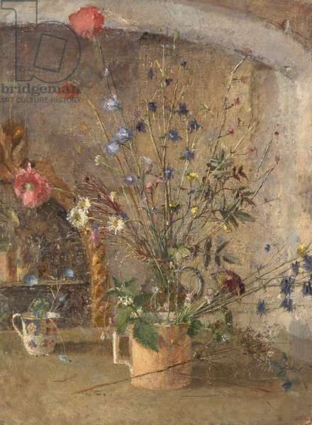 Flowers in an Alcove
