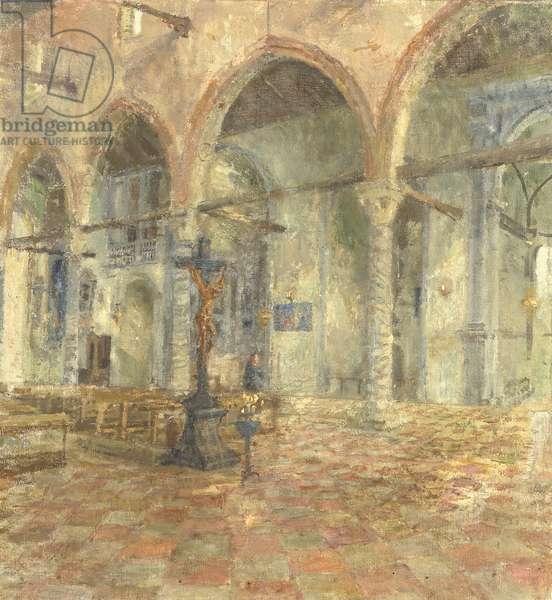 Interior of Madonna Dell'Orto, Venice