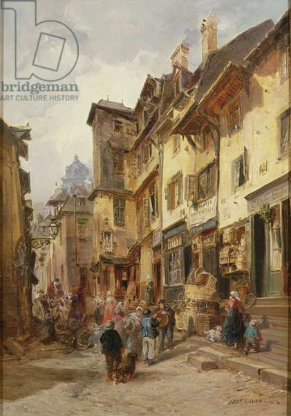 Street Scene, Northern France
