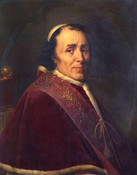 Pope Pius VII, 1805 (oil on canvas)