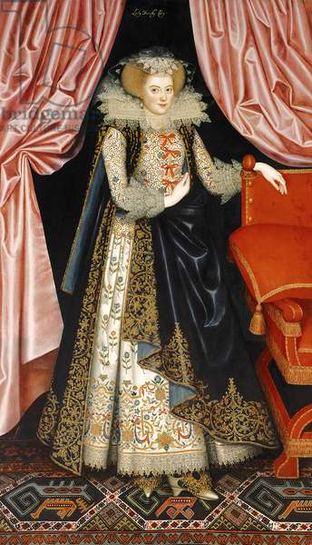 Probably Elizabeth Cary, née Tanfield, c.1615 (oil on canvas)