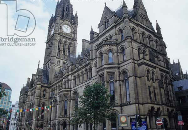 Town Hall, designed by Alfred Waterhouse, 1830-1905 (photo)