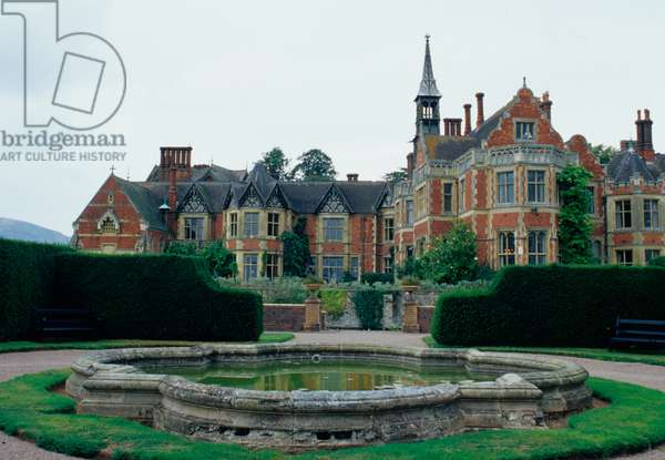 View of Madresfield Court (photo)