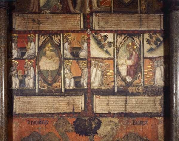 The Apocalypse of St. John (painted plaster)