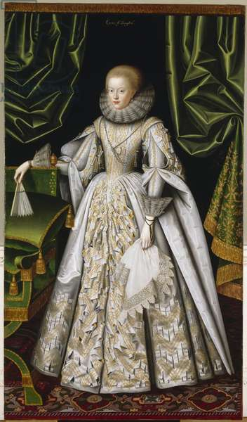 Anne Cecil, Countess of Stamford c.1615 (oil on canvas)