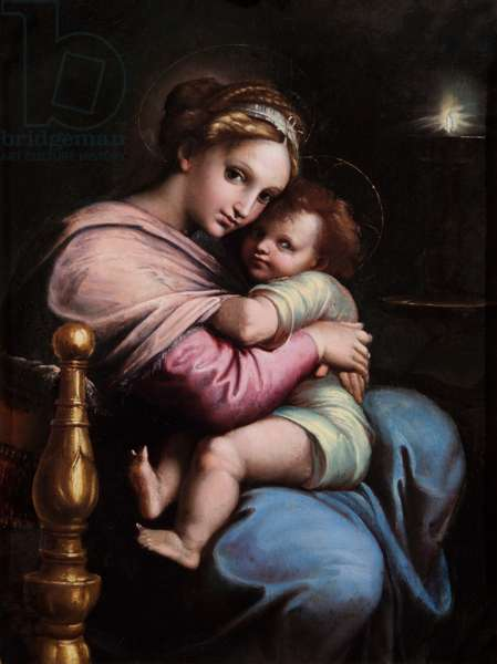 The Virgin and Child, c.1517-19 (oil on panel)