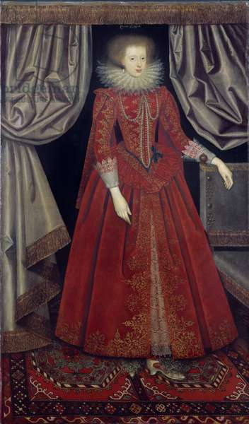 Catherine Knevet, c.1615 (oil on canvas)