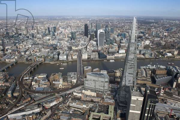 The Shard, 32 London Bridge Street, Southwark, London, UK (photo)