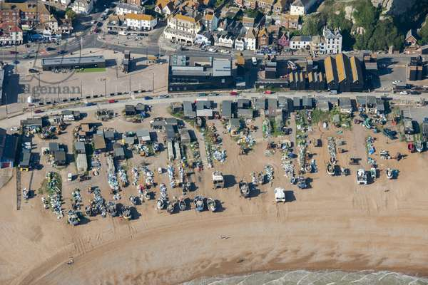 The Stade, Hastings, East Sussex, UK (photo)
