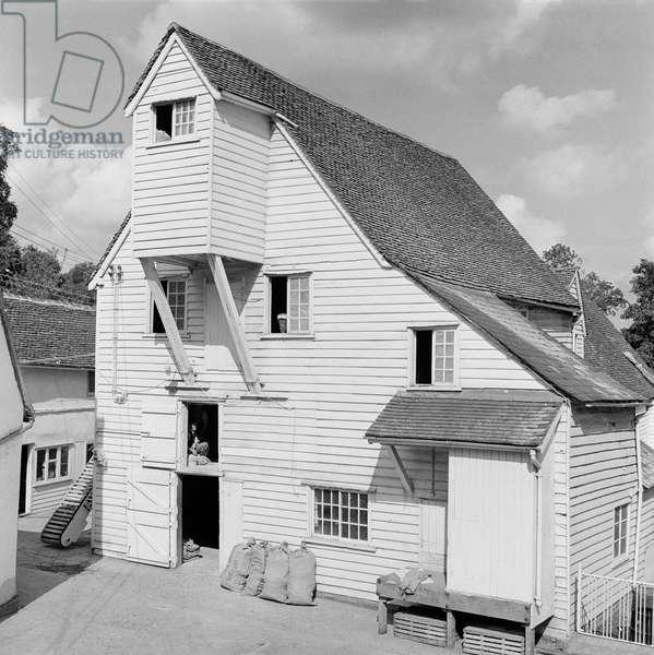 Bradford Mill, Braintree, Essex, 1945-80 (b/w photo)