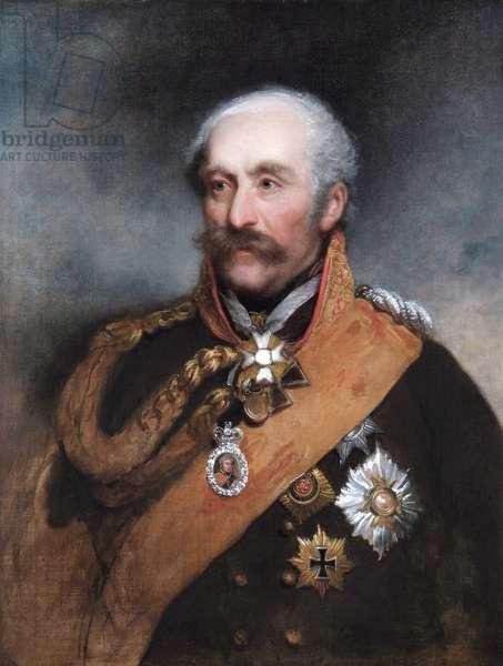 Field Marshal Prince von Blucher, 1818 (oil on canvas)