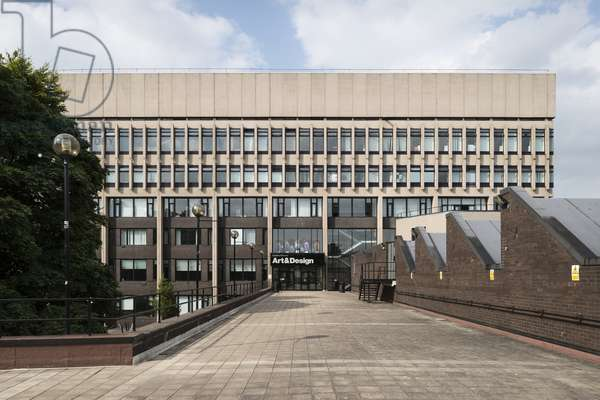 Coventry University Graham Sutherland Building, Cox Street, Coventry, West Midlands, UK (photo)
