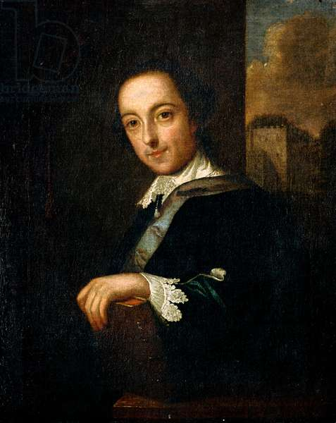 Sir Horace Walpole, c.1755 (oil on canvas)