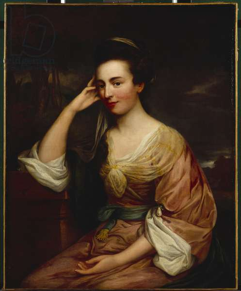 Mrs Chandos-Pole (oil on canvas)