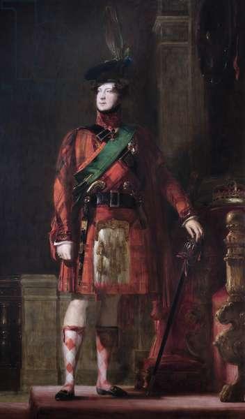 King George IV (oil on canvas)