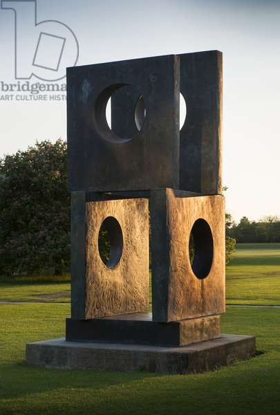 Hepworth - Four-Square Walkthrough, Churchill College, Storey's Way, Cambridge, Cambridgeshire, UK (photo)