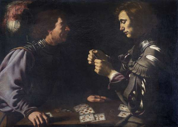 Card Players, c.1620 (oil on canvas)