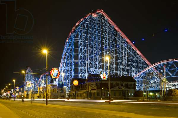 Roller Coaster, Blackpool Pleasure Beach (photo)