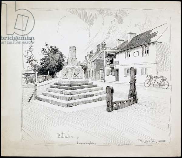 Bottesford, Leicestershire, 1892-1933 (pen & ink on paper)