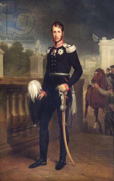 Frederick William III (oil on canvas)