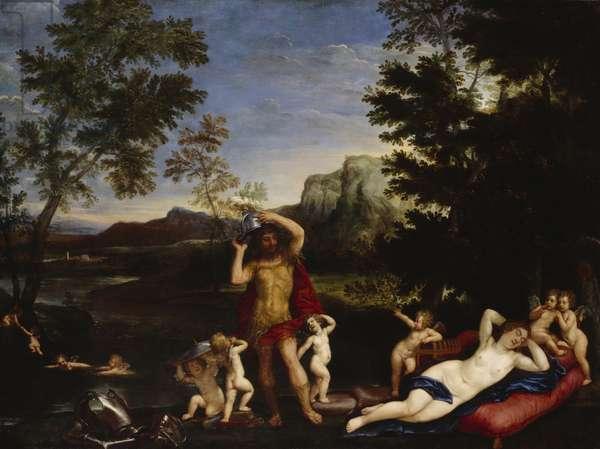 Venus and Mars (oil on canvas)