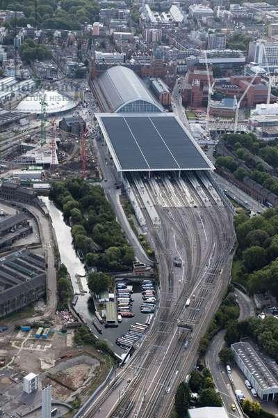 St Pancras Station, Camden, London, UK (photo)