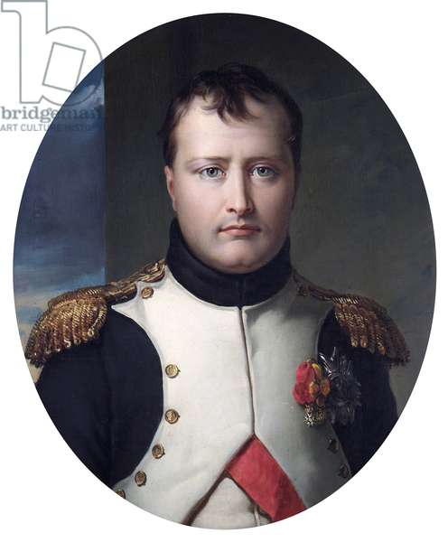 Napoleon Bonaparte, Emperor, pre 1830 (oil on canvas)