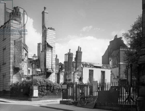 No 1 Dix's Field, Exeter, Devon, UK, 1942 (b/w photo)