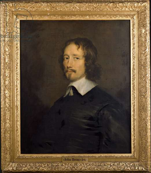 John Hampden (oil on canvas)