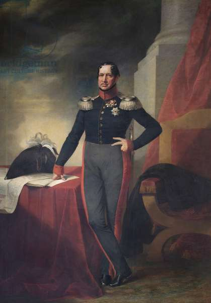 Frederick William III, King of Prussia, c.1830 (oil on canvas)