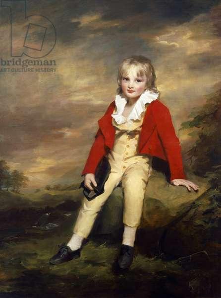 Sir George Sinclair as a boy (oil on canvas)