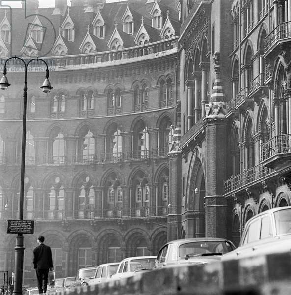 St Pancras Chambers, London, 1960-72 (b/w photo)
