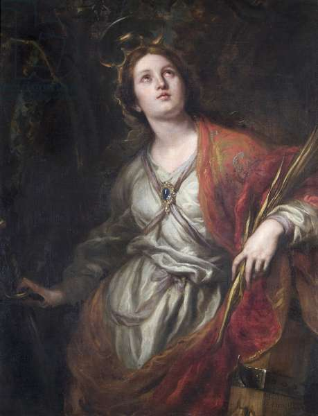 Saint Catherine of Alexandria, 1683 (oil on canvas)