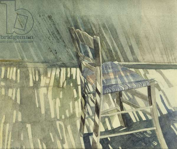 Chair, 1982 (w/c on paper)