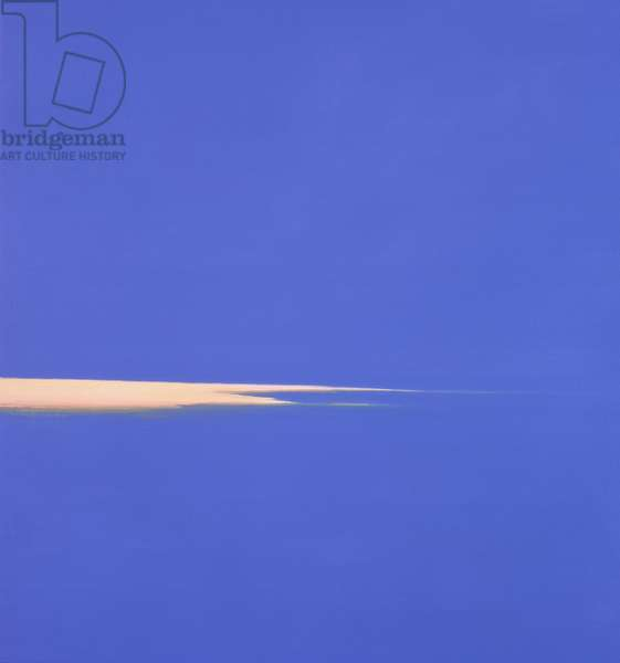 Lelant Sandbar VI, 2001 (oil on canvas)