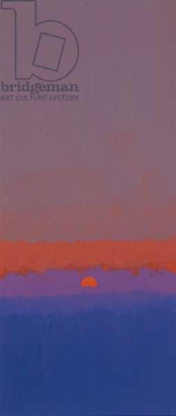 Sunrise (gouache)