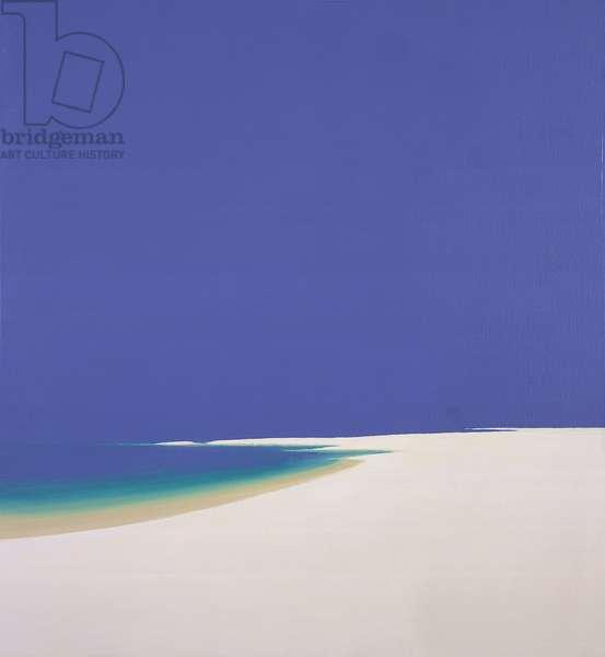 Midsummer, Sandspur, 2002 (oil on canvas)