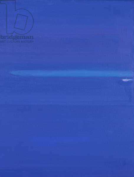 Ultramarine over Violet, 1999 (oil on canvas)