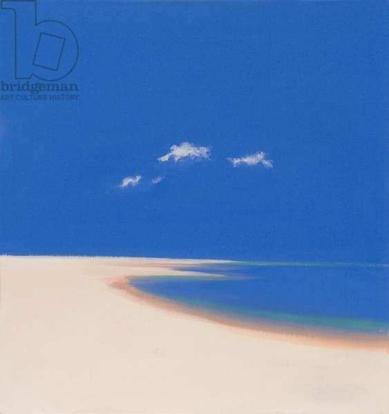 Penwith Beach (oil on canvas)